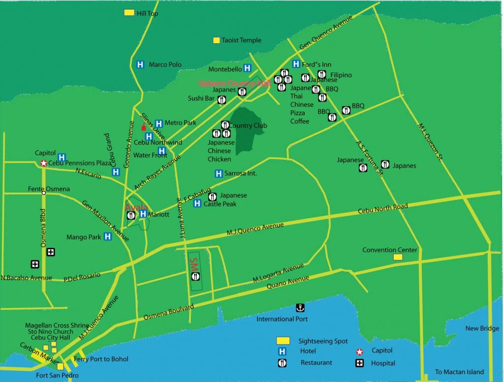 Cebu City Map | Quality Map - Cebu City Map Printable