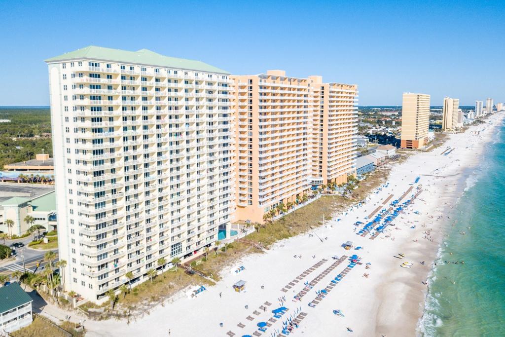 Celadon Beach | Panama City Beach Condo Rentalsocean Reef Resorts - Map Of Panama City Beach Florida Condos