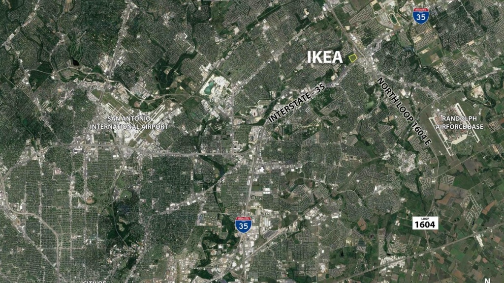 Cencor Realty Services To Leverage Future Ikea Location To Develop - Ikea Locations California Map