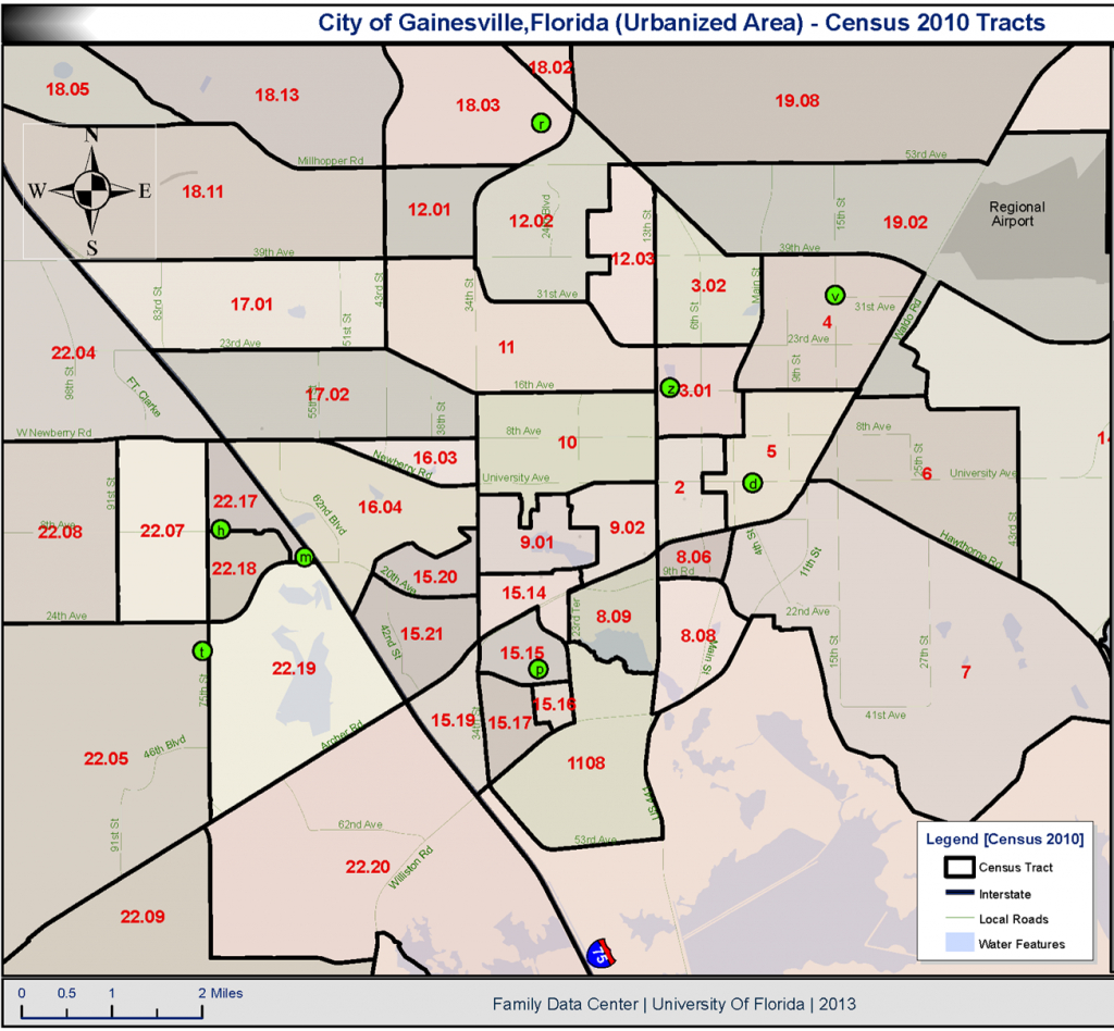 Census Tracts » Community Action Resources For Engagement (C.a.r.e. - Florida Census Tract Map