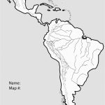 Central American Physical Map Printable South America With Key Best   South America Physical Map Printable
