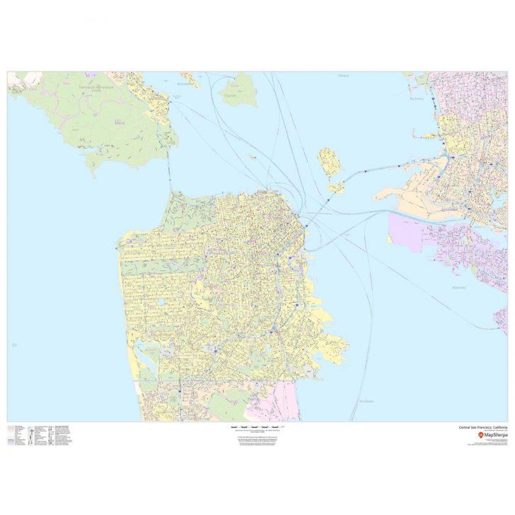 San Francisco California Map