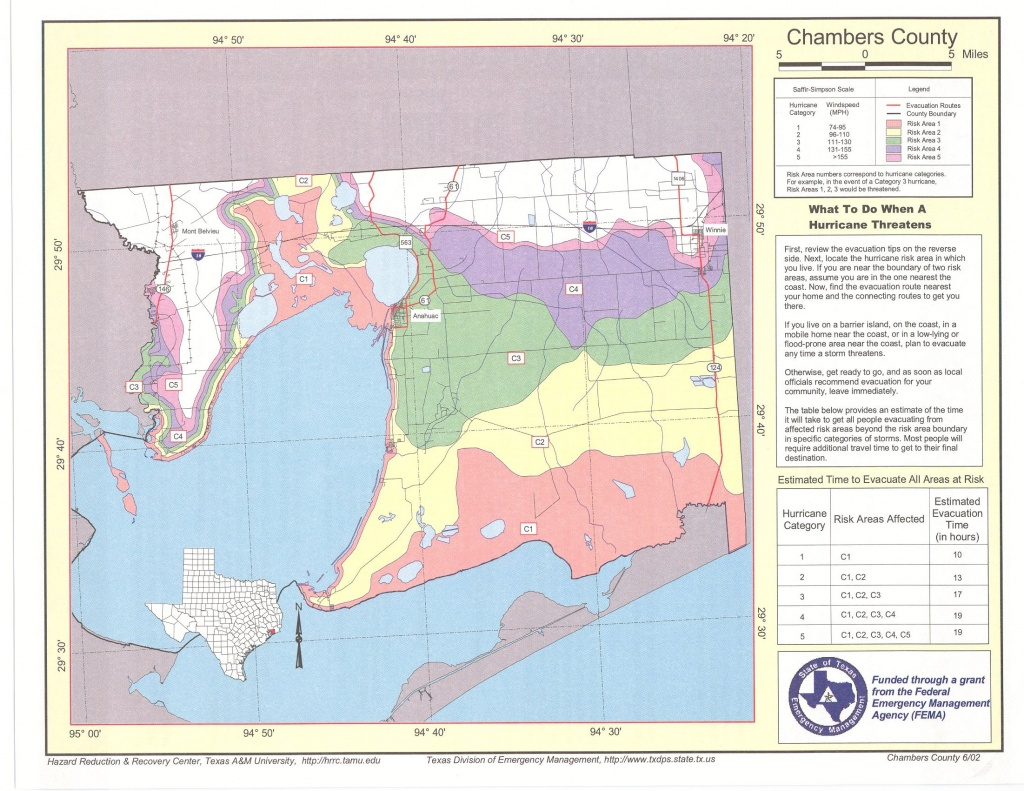 Chambers County Risk Area Map - Orange County Texas Flood Zone Map