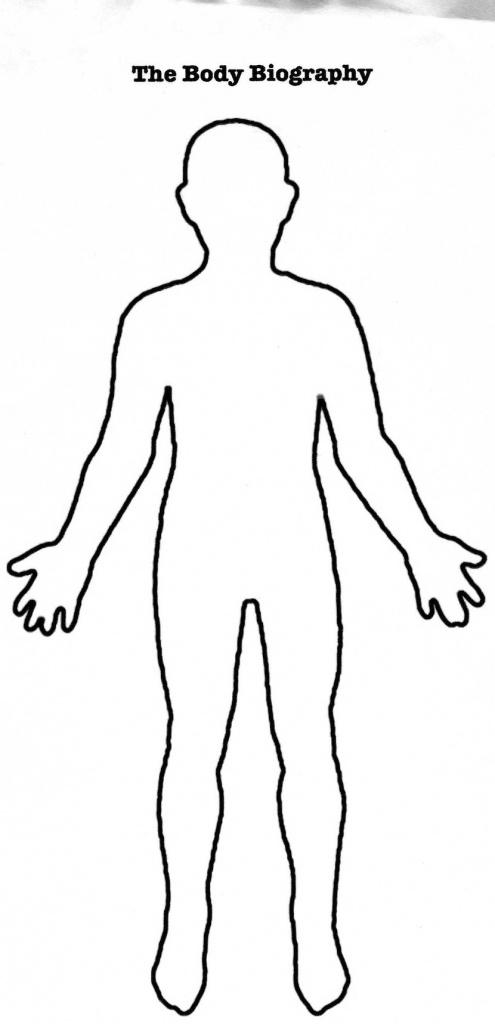 Character Body Template - Koman.mouldings.co - Printable Body Maps