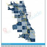 Chicago, Il Zip Code Map [Updated 2019]   Chicago Zip Code Map Printable