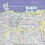 Chicago Maps   Top Tourist Attractions   Free, Printable City Street Map   Printable Map Of Downtown Chicago