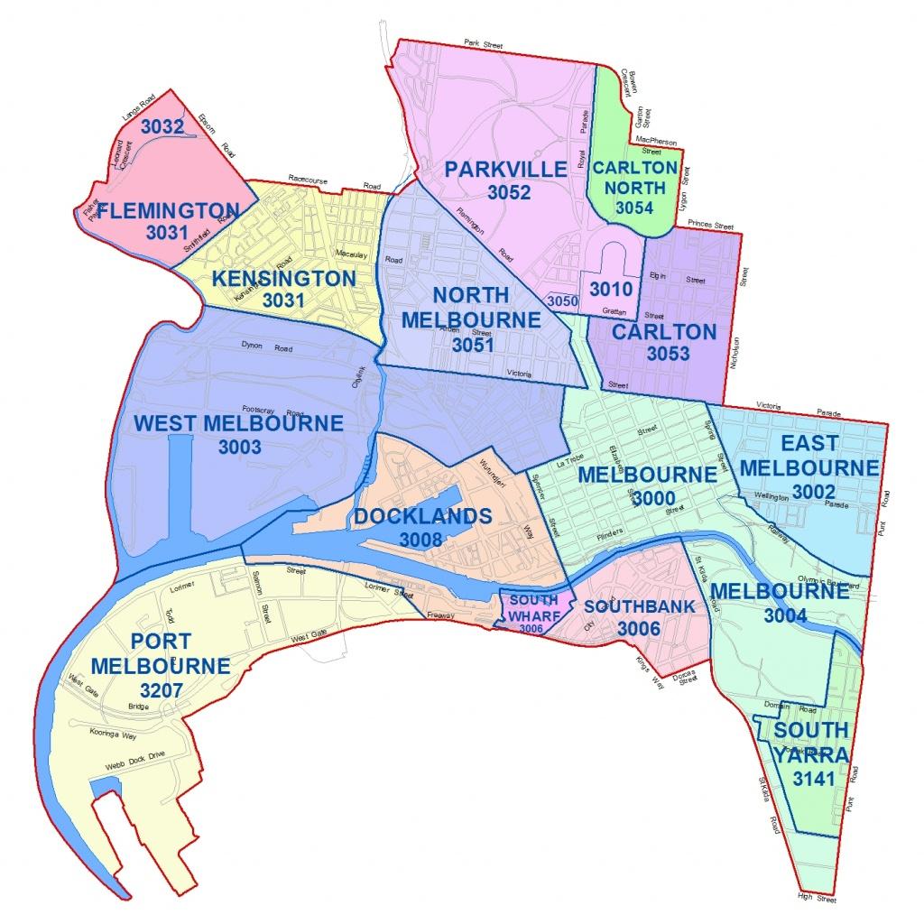 City Maps - City Of Melbourne - Melbourne Tourist Map Printable