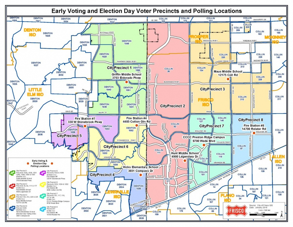 "City Of Frisco,texas On Twitter: ""frisco, Saturday Is Election Day - Map Of Texas Showing Frisco"