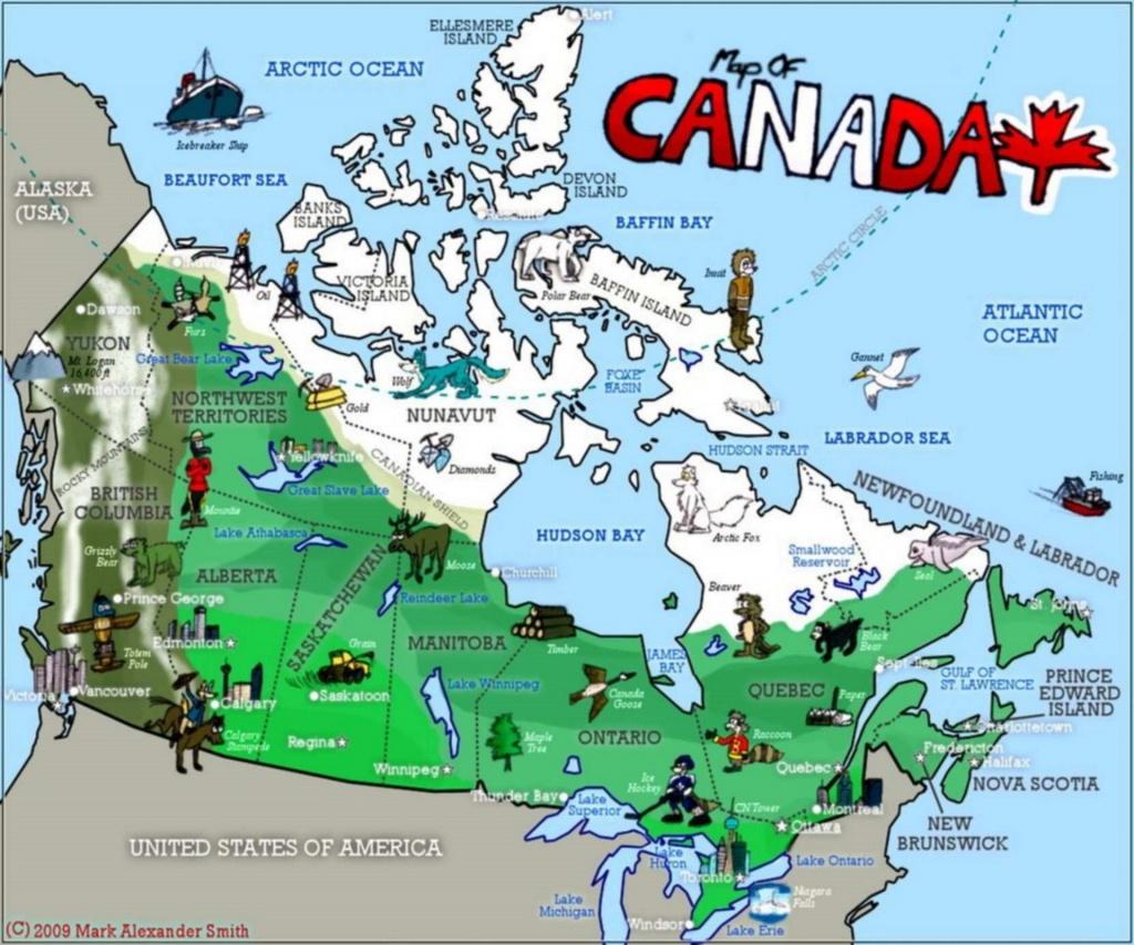 Civilization : Canada - Esl Resources - Map Of Canada Quiz Printable