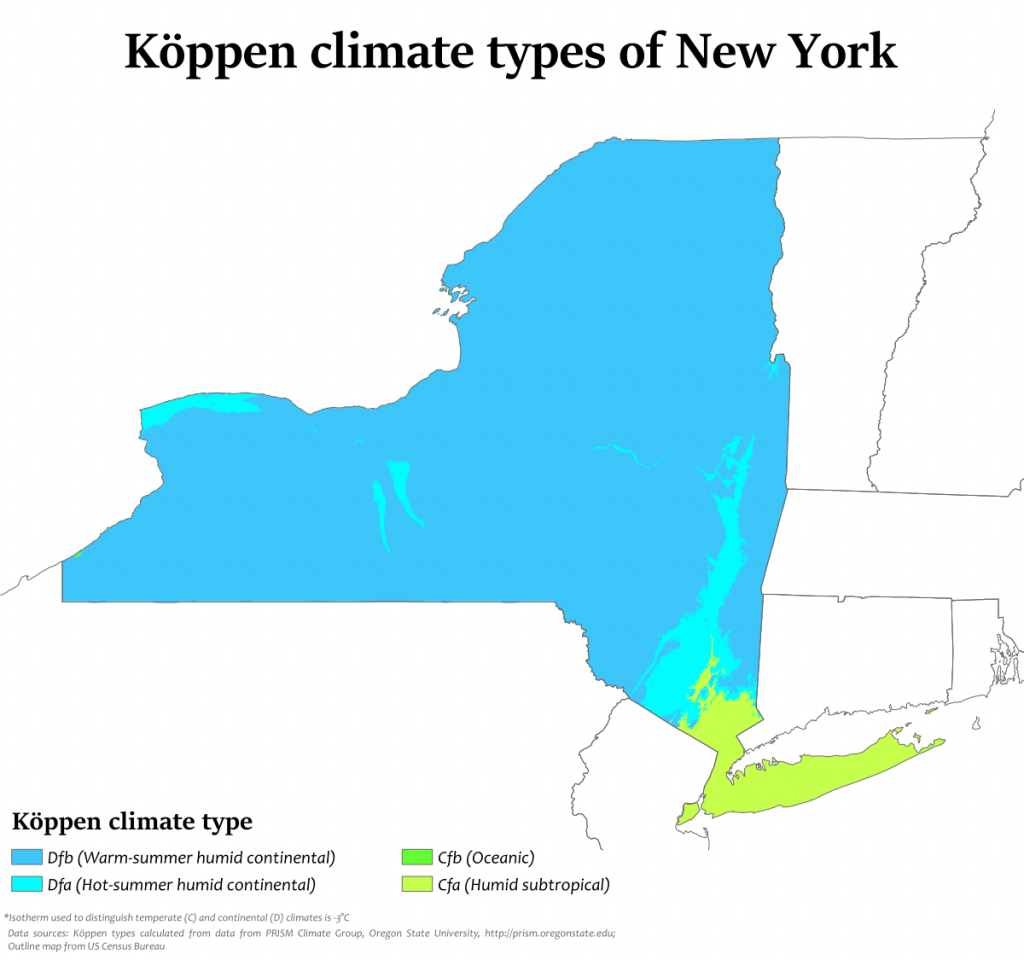 Climate Of New York - Wikipedia - Florida Humidity Map