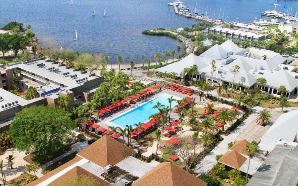 Club Med Sandpiper Bay Hotel Review, Florida   Travel - Club Med Florida Map