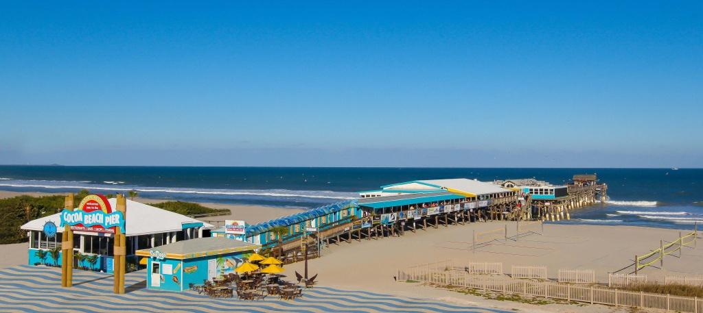 Cocoa Beach Florida Map | Beach Destination - Coco Beach Florida Map