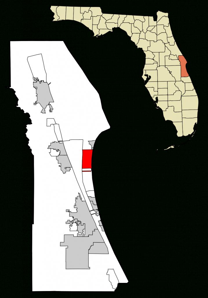 Cocoa Beach, Florida - Wikipedia - Cocoa Beach Florida Map