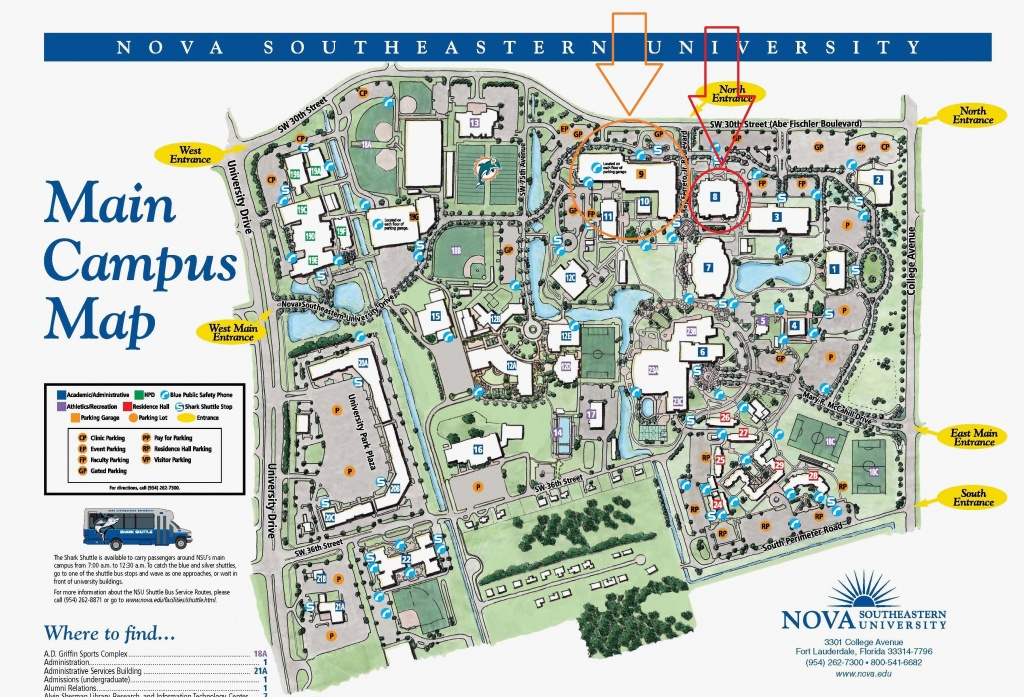 Colleges In Florida Map And Travel Information | Download Free - State College Of Florida Bradenton Campus Map