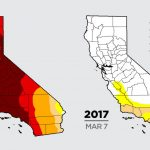 Color Me Dry: Drought Maps Blend Art And Science    But No Politics   California Drought 2017 Map