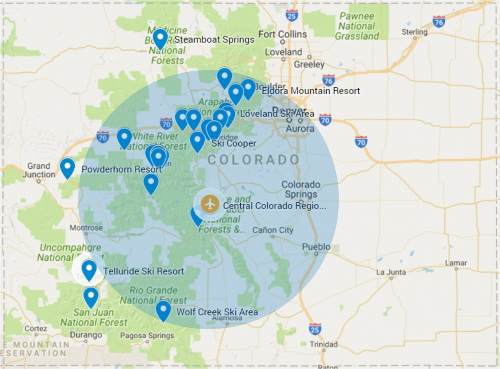 Colorado Airports Map Map Of Airports In Southern California Best Of - Southern California Airports Map