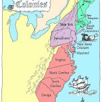 Coloring Pages: 13 Colonies Map Printable Labeled With Cities Blank   New England Colonies Map Printable