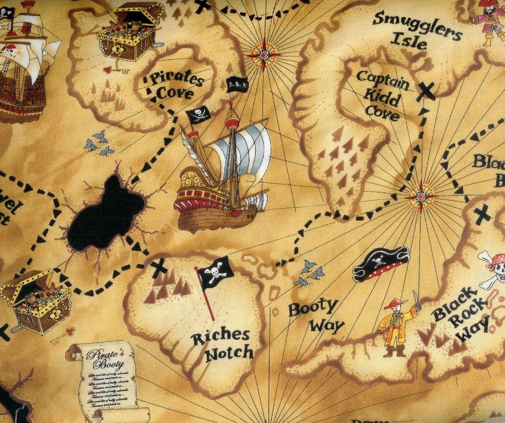 Coloring ~ Pirate Map Coloring Pages Blank Treasure Page Colouring - Free Printable Treasure Map