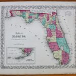 Colton's Florida *****sold*****   Antique Maps And Charts – Original   Florida Maps For Sale