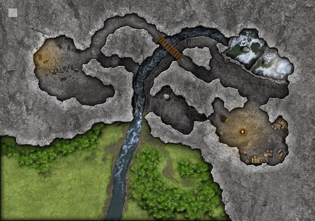 Community Made Lost Mine Of Phandelver Maps ~ Dnd Online Collective - Lost Mine Of Phandelver Printable Maps