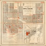 Comprehensive Map Of Coral Gables George E. Merrick America's Finest – Coral Gables Florida Map