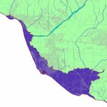 Conservation: Global Warming (Cnps-Ci) - California Sea Level Rise Map