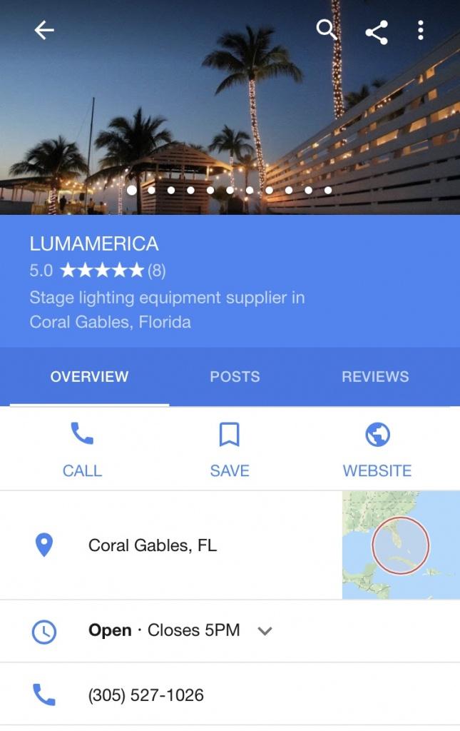 Contact   Lumamerica - Google Maps Coral Gables Florida