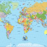 Cool World Map Pdf 2 | Maps | World Map Wallpaper, Detailed World   8X10 Printable World Map