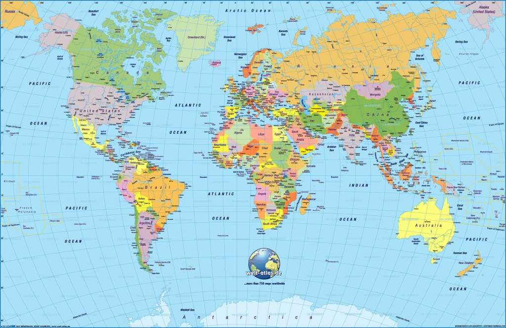 Cool World Map Pdf 2 | Maps | World Map Wallpaper, Detailed World - World Map With Cities Printable