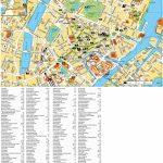 Copenhagen Tourist Attractions Map   Printable Tourist Map Of Copenhagen
