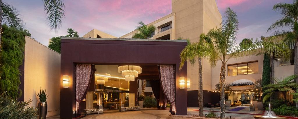 Costa Mesa Hotel | Avenue Of The Arts Costa Mesa, A Tribute - Starwood Hotels California Map