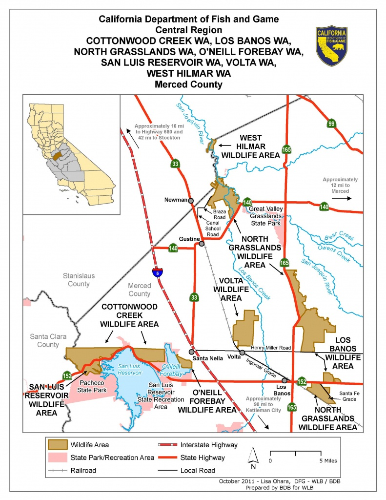 Cottonwood Creek Wildlife Area | We've Moved To Www.legallabrador. - Wild Hogs California Map