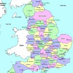 Counties And County Towns | Geo - Maps - England In 2019 | England - Printable Map Of England