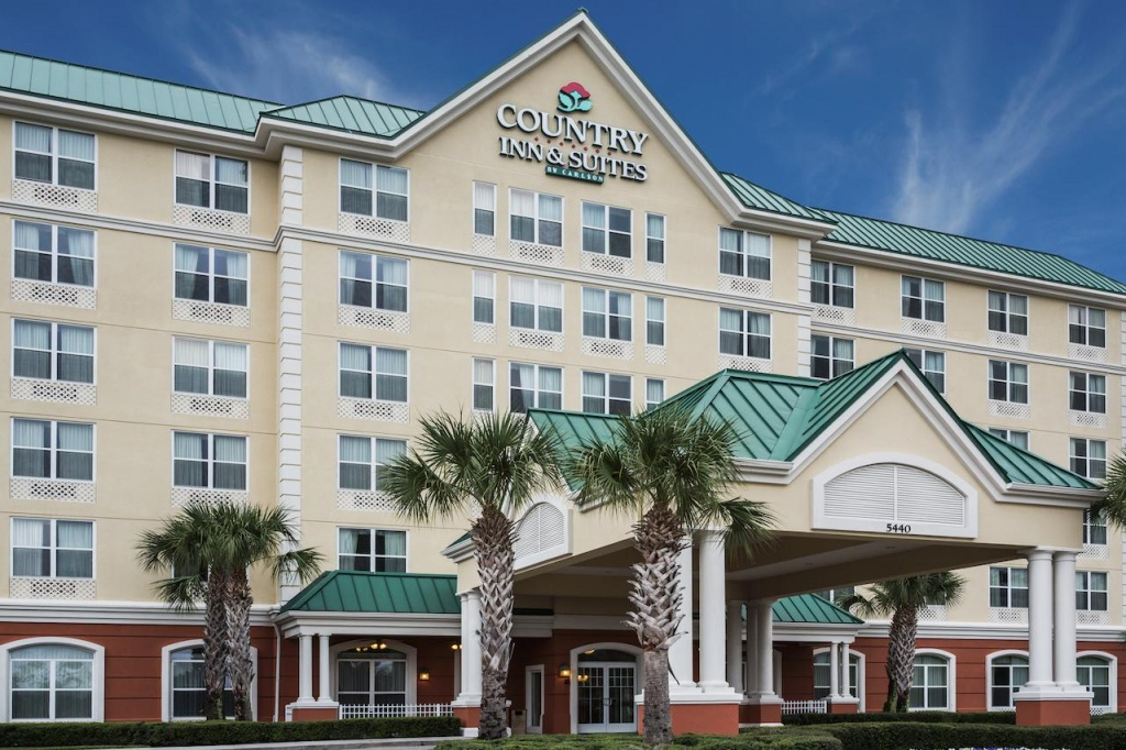Country Inn Suites Orlando, Fl - Booking - Country Inn And Suites Florida Map