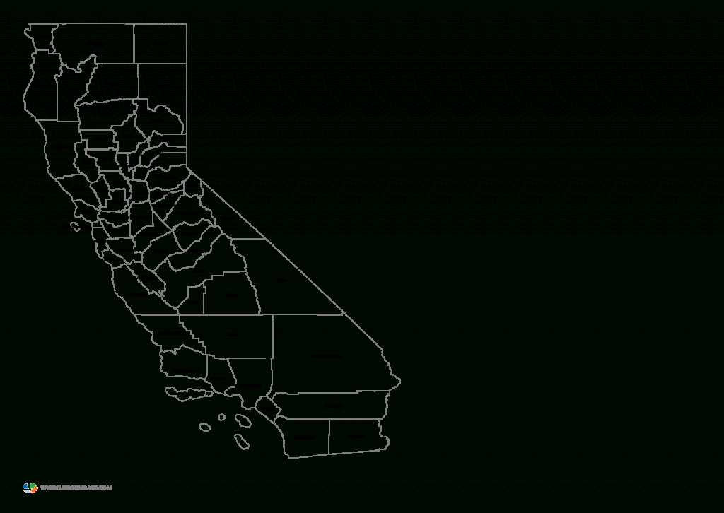 County Map Of California And Travel Information | Download Free - Free Editable Map Of California Counties