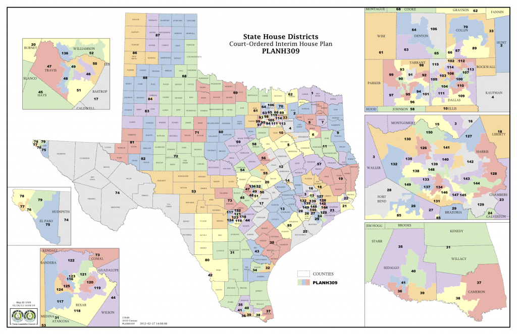 Court Delivers Election Maps For Texas House, Congress | The Texas - Texas Representatives District Map