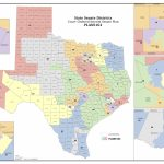 Court Increases Minority Districts In Texas Legislature | The Texas - Texas State Representatives District Map