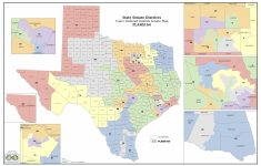 Court Increases Minority Districts In Texas Legislature | The Texas – Texas State Representatives District Map