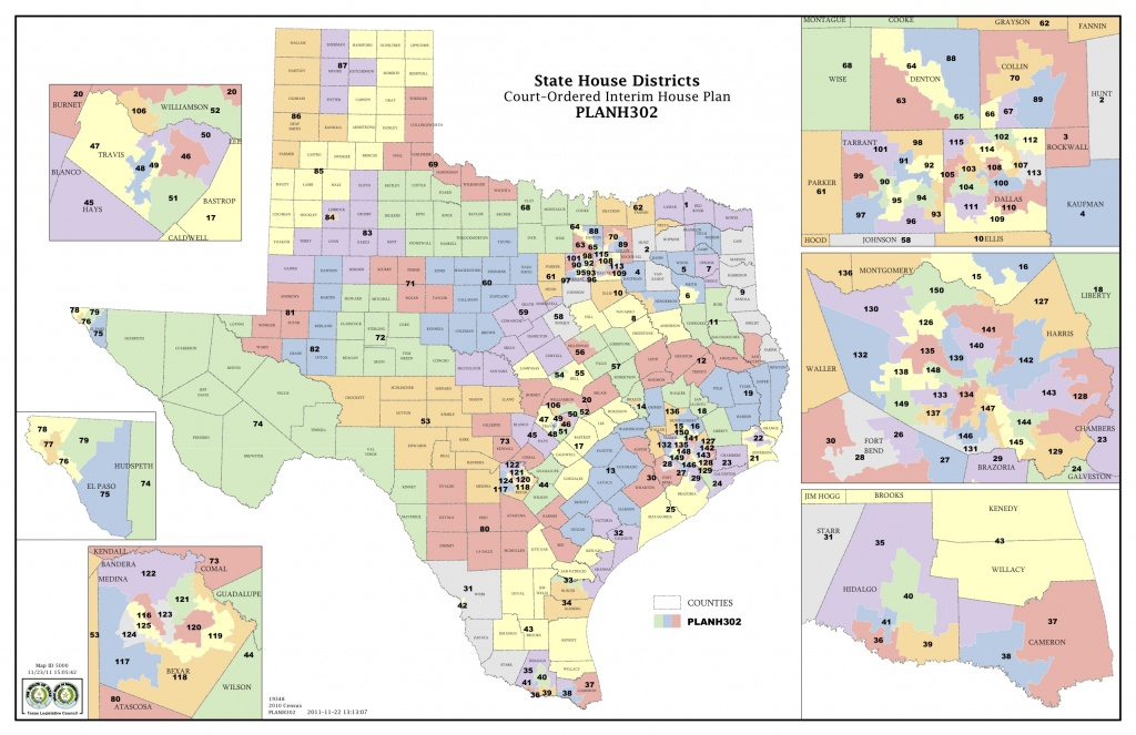 Court Increases Minority Districts In Texas Legislature | The Texas - Texas State Senate District 19 Map