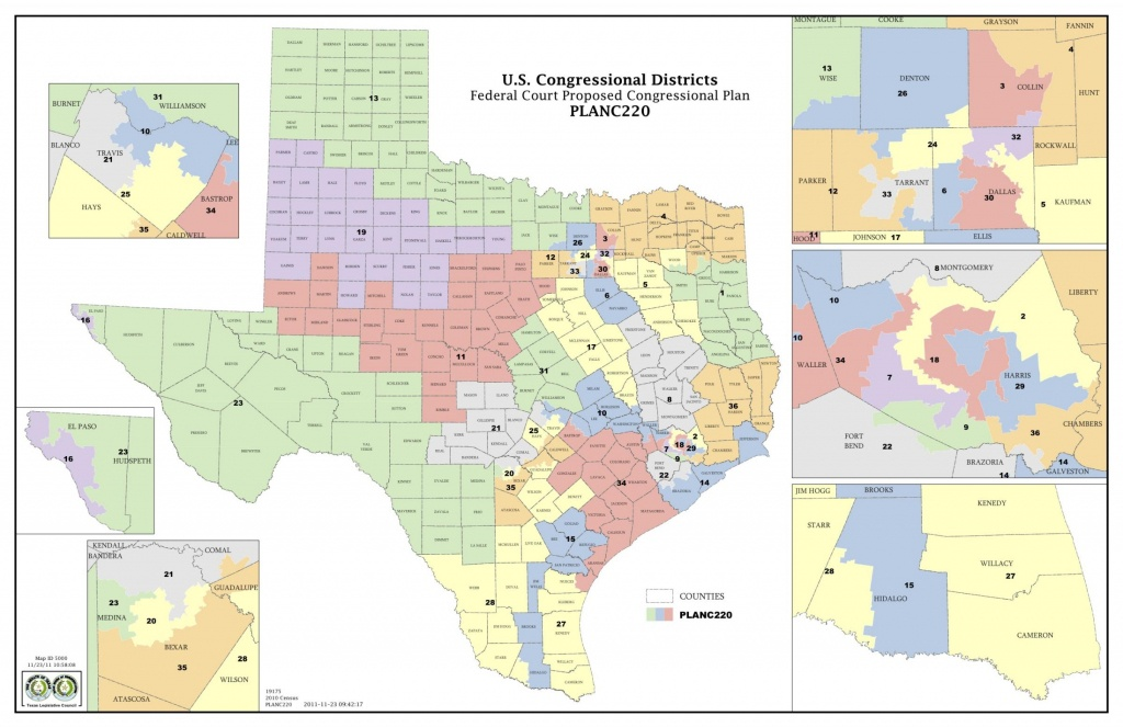 Court Releases Congressional Maps | Kut - Texas State Representatives Map