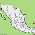 Cozumel Maps | Mexico | Maps Of Cozumel   Printable Map Of Cozumel Mexico