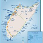Cozumel Tourist Attractions Map   Printable Map Of Cozumel Mexico