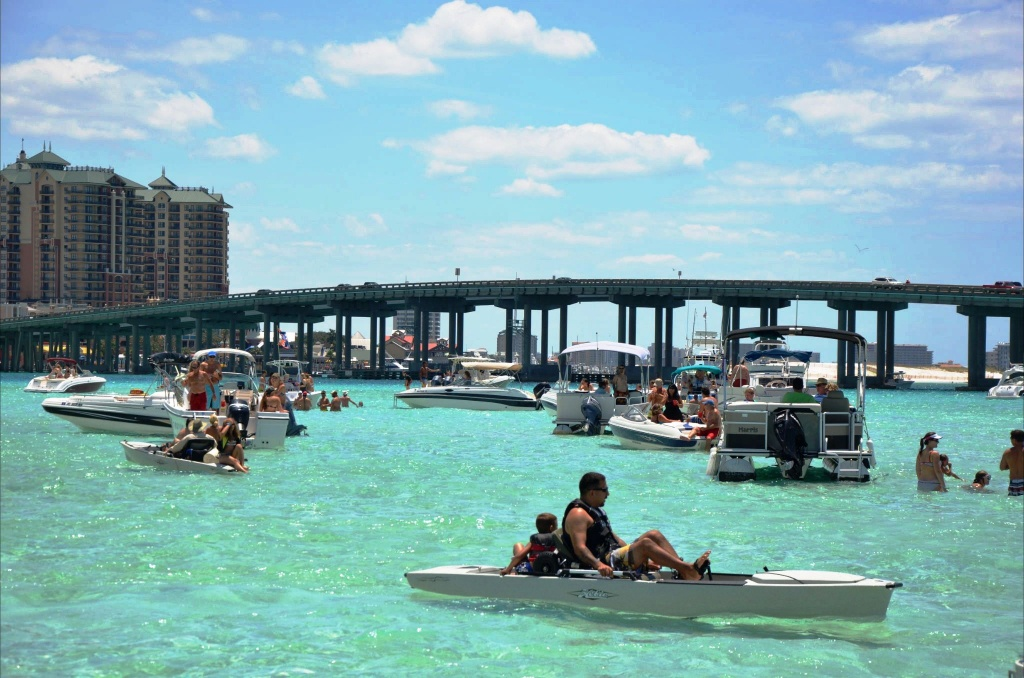 Crab Island Destin Florida - Things To Do - Crab Island In Destin Florida Map