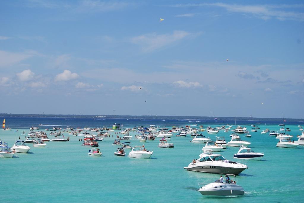 Crab Island In Destin Florida: The Complete Visitors Guide - Crab Island In Destin Florida Map