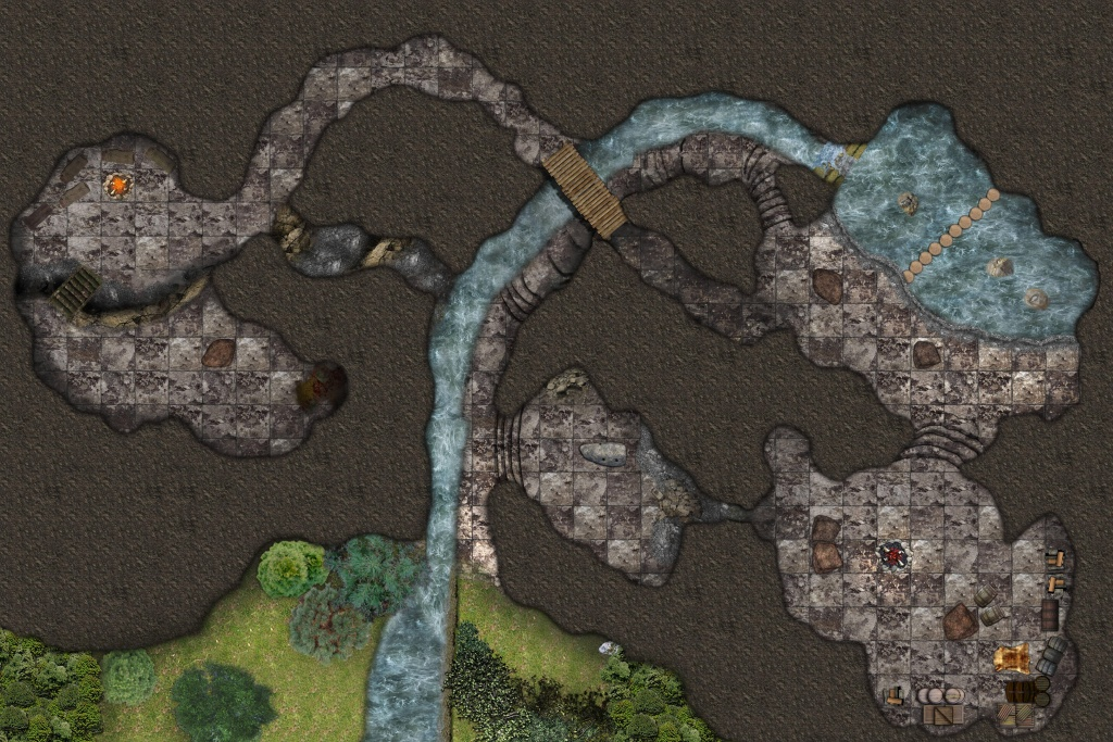 Cragmaw Hideout - Any Tips On How I Can Improve My Maps Any Further - Cragmaw Hideout Printable Map