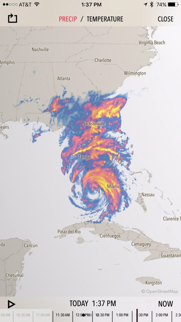 Florida Weather Map Today