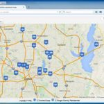 Create A Map: Easily Map Multiple Locations From Excel Data   Create Printable Map