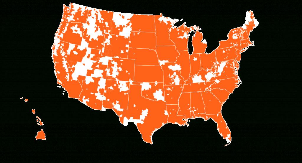 Credo Mobile Coverage Map   Credo Mobile - Verizon 4G Coverage Map Florida