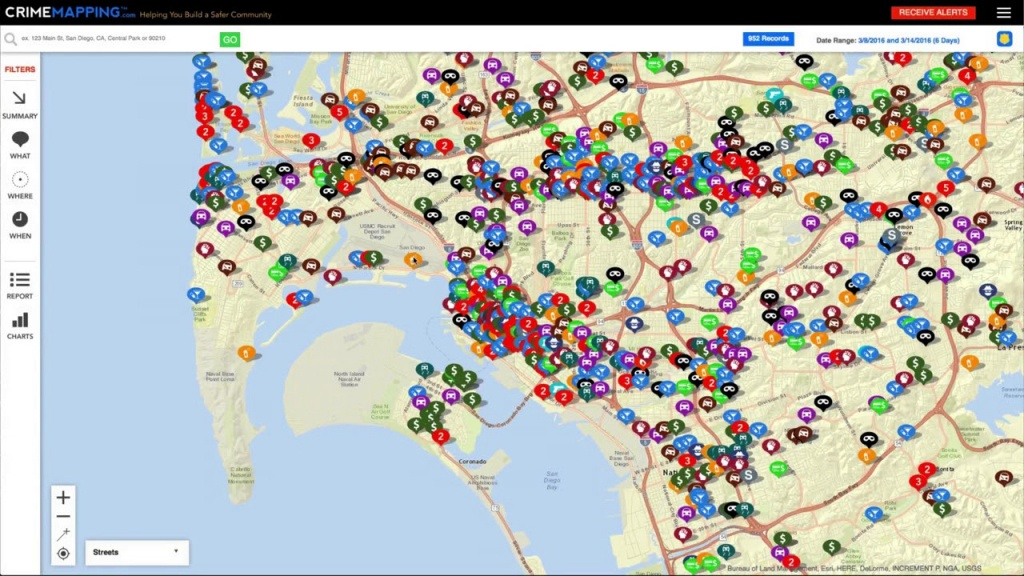 Crimemapping - Helping You Build A Safer Community - Sexual Predator Map California