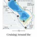 Cruising Around The Salton Sea | Lakes | Salton Sea, Salton Sea   Salton Sea California Map